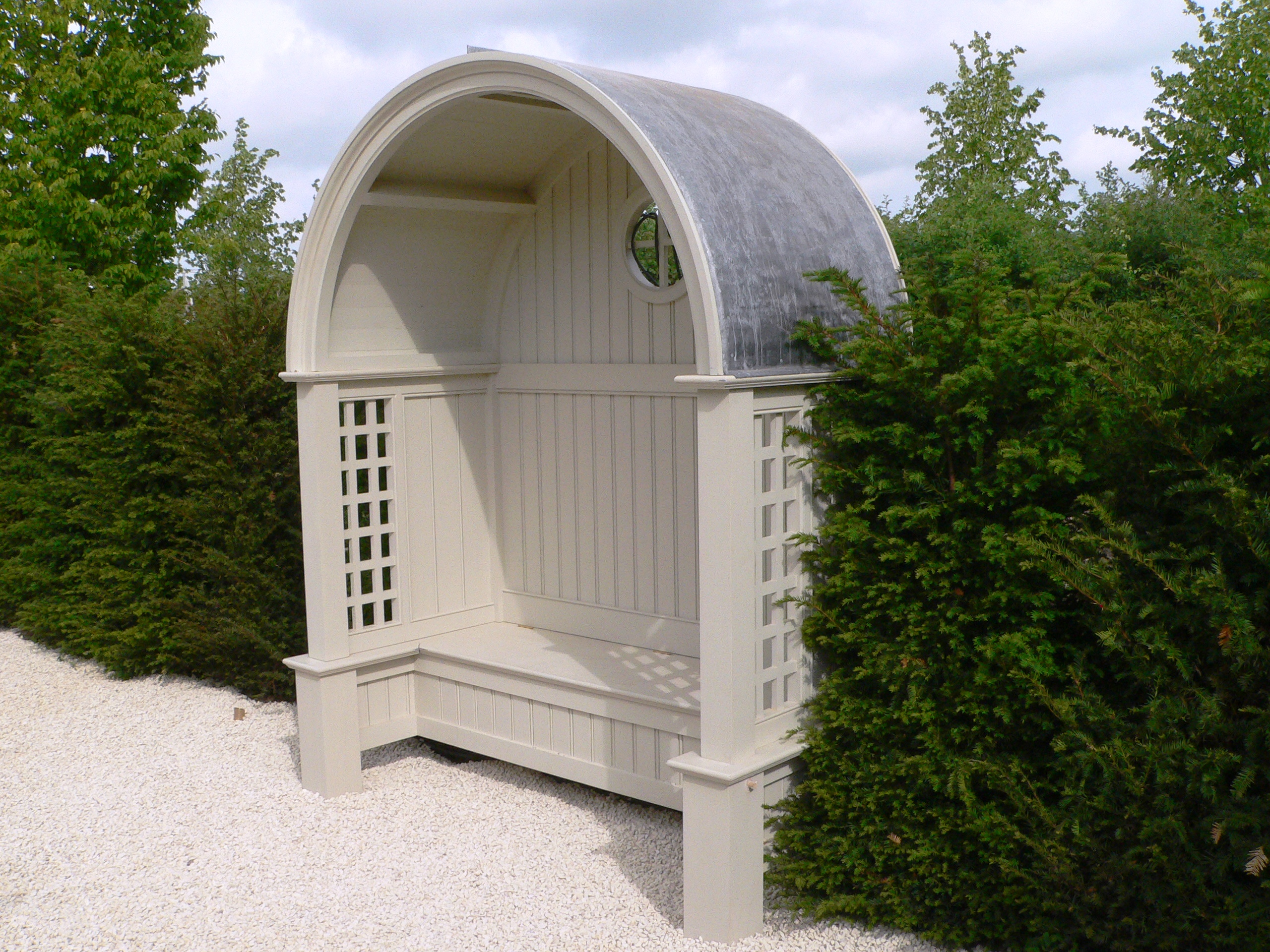 garden architectural joinery