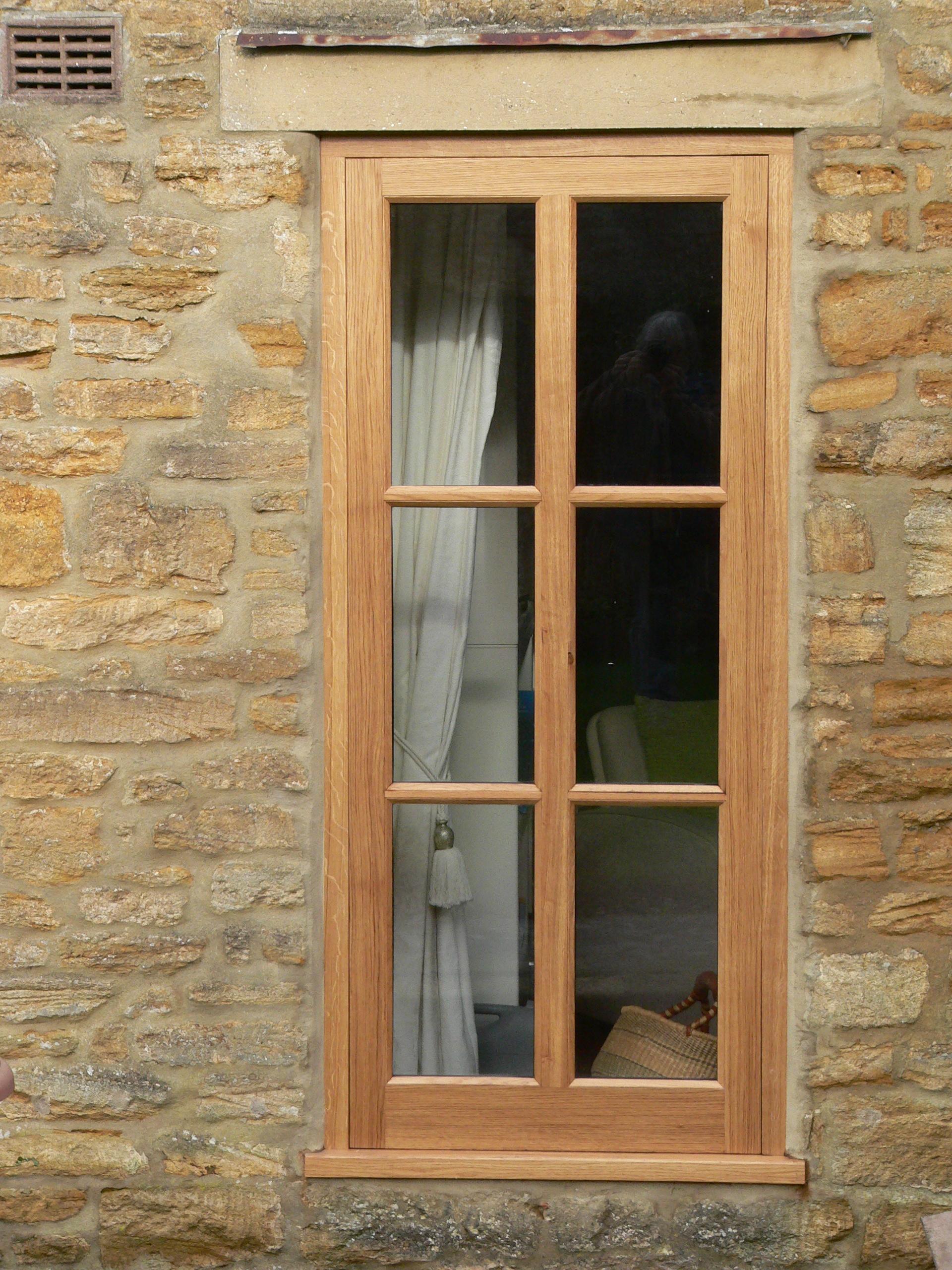 hardwood windows